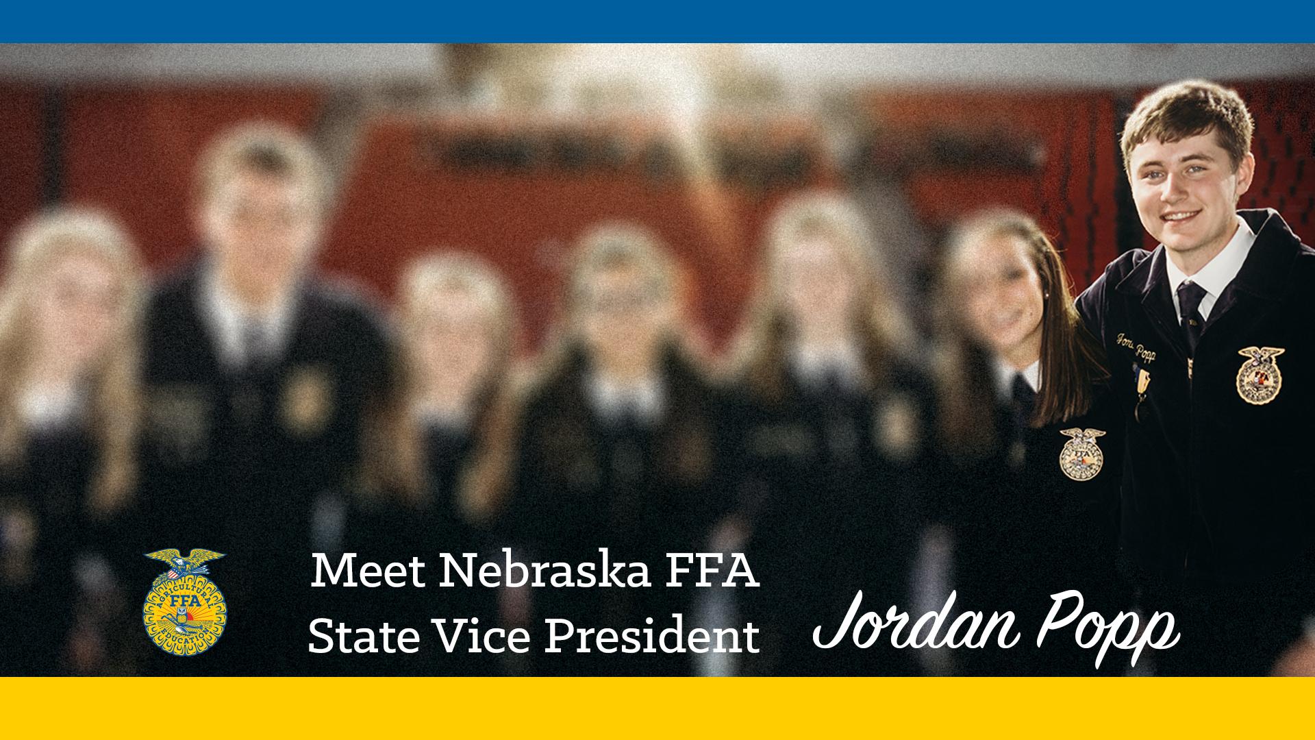 Meet Your 2018-19 Nebraska FFA State Vice President: Jordan Popp