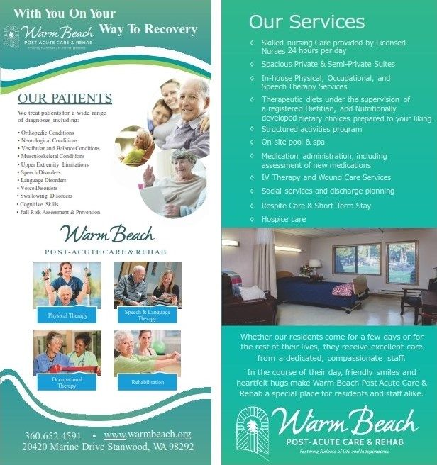 Warm Beach Post Acute Care & Rehab Services