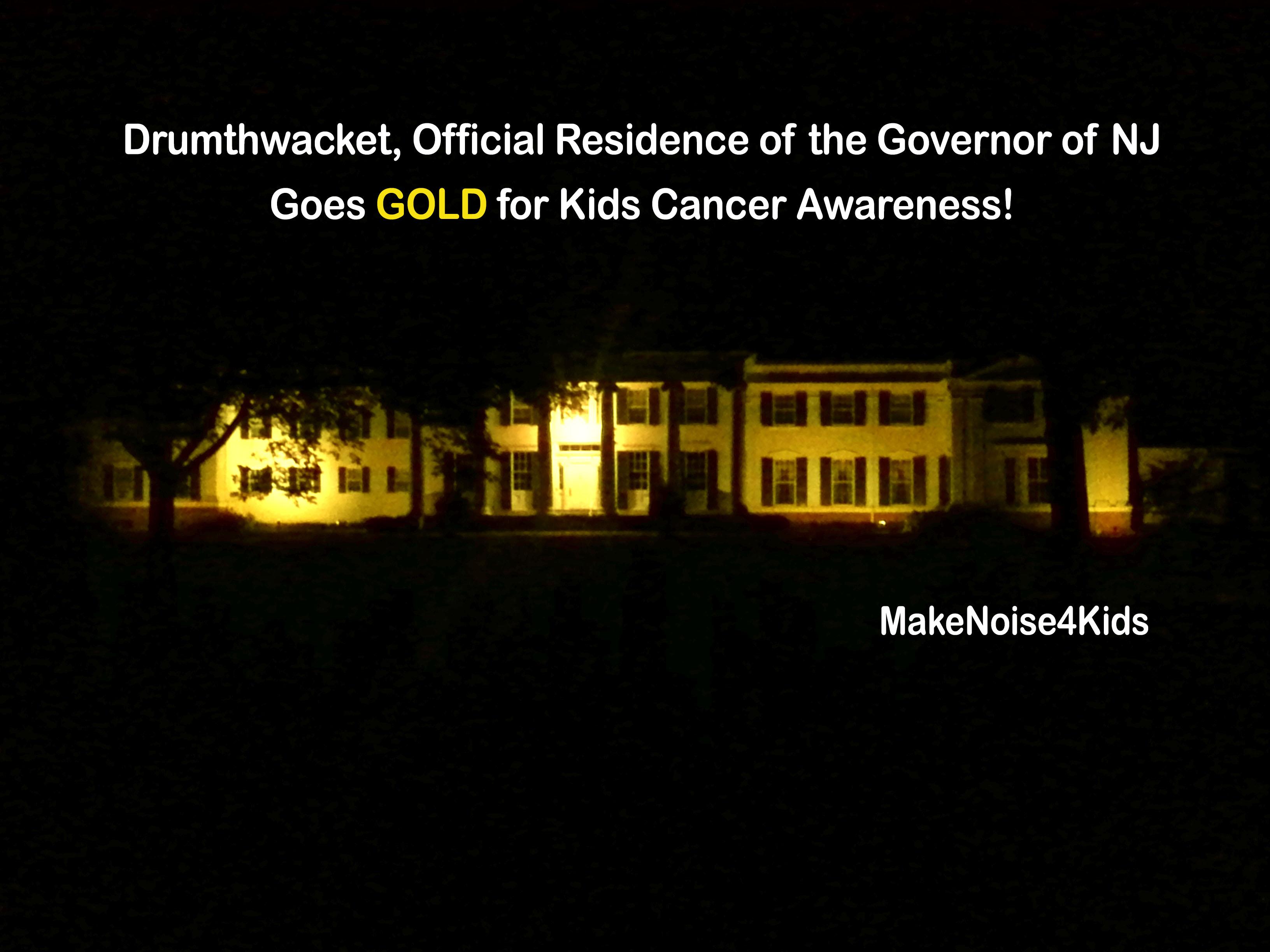 NJ Governor's Mansion Gold