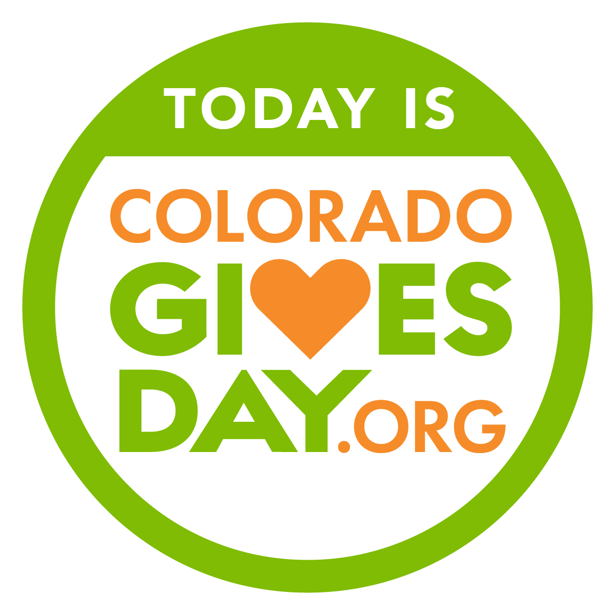 Today is Colorado Gives Day Badge