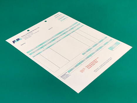 Laser & Cut Sheet Forms