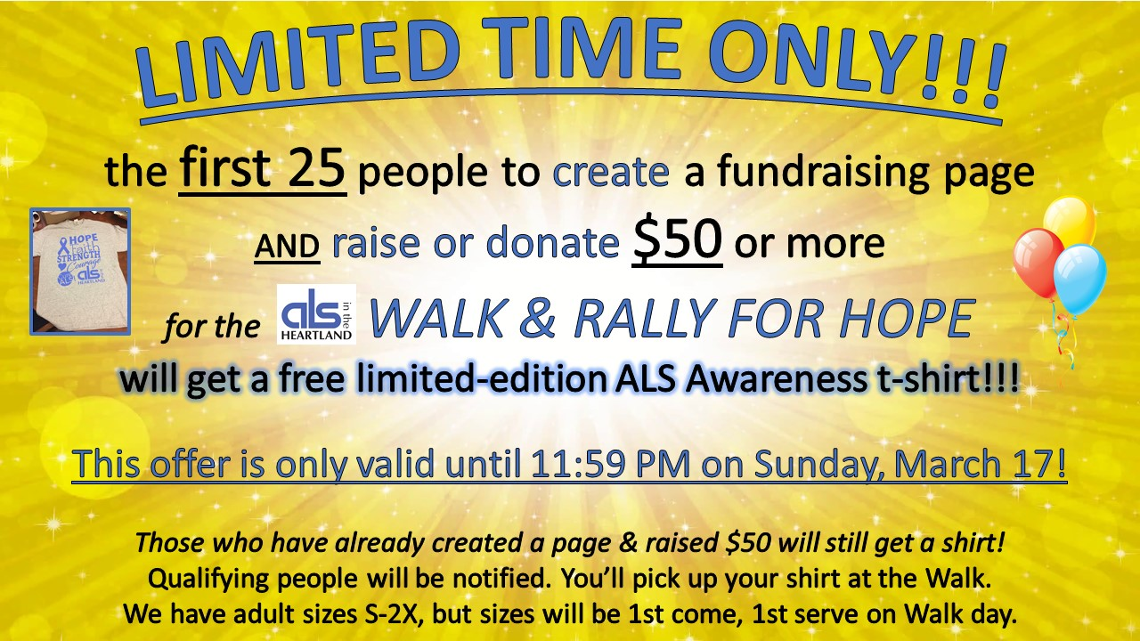 ALS in the Heartland : News & Events : 2019 Walk & Rally for Hope