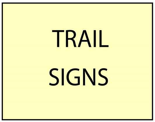 G16099 - Carved Custom Trail  Signs for Federal, State, County and Private Parks and Recreation Areas