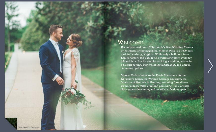 Morven Park weddings lookbook