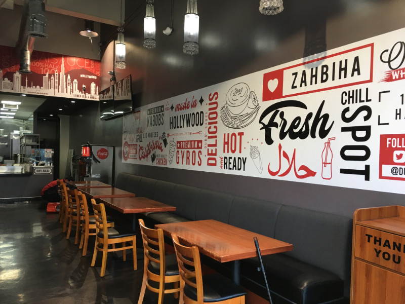 Restaurant Wall Murals | Los Angeles