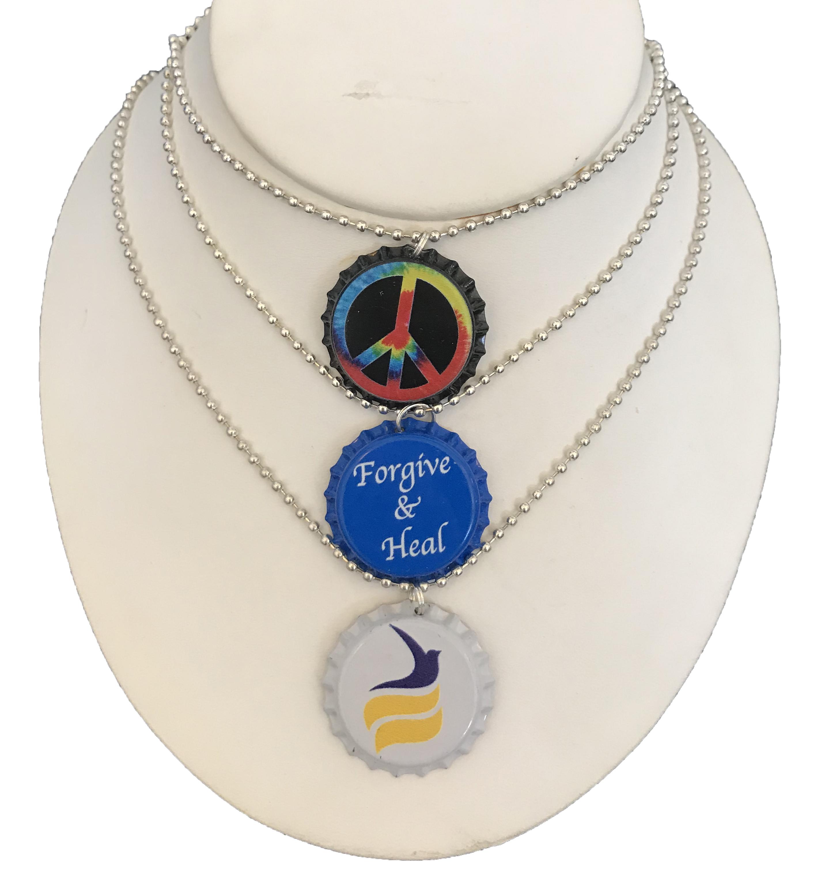 Bottle Cap Necklace (USA Shipping)