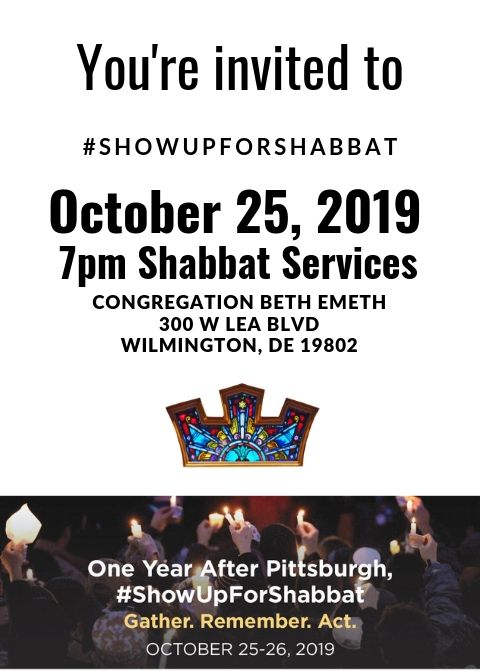 #ShowUpForShabbat