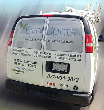 Everlights van window perf