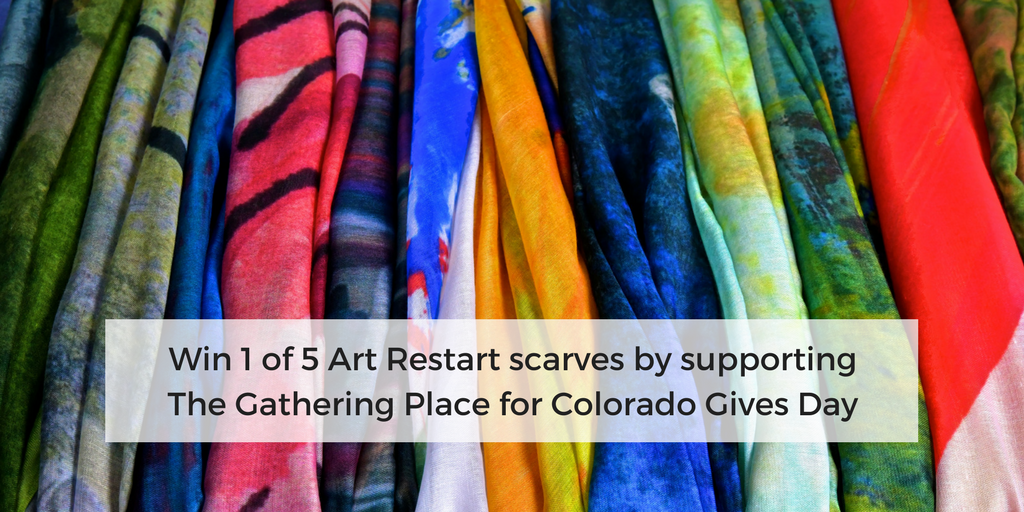 Win an Art Restart Scarf