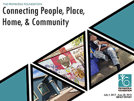 "Annual Impact Report - ""Connecting People, Place, Home, & Community"""