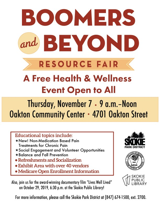 Boomers and Beyond Resource Fair