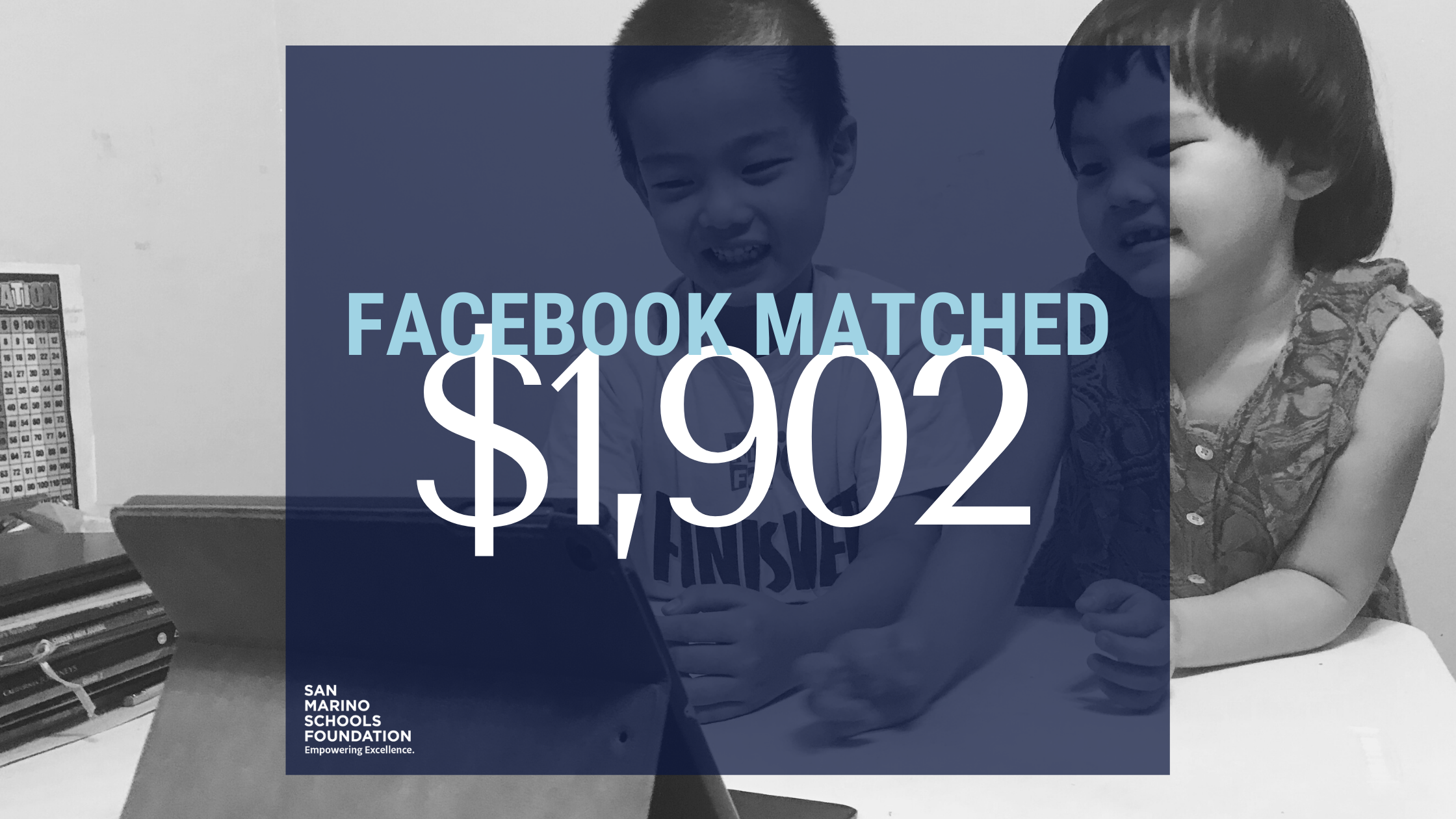 SMSF Received a Facebook Match for #GivingTuesday Campaign