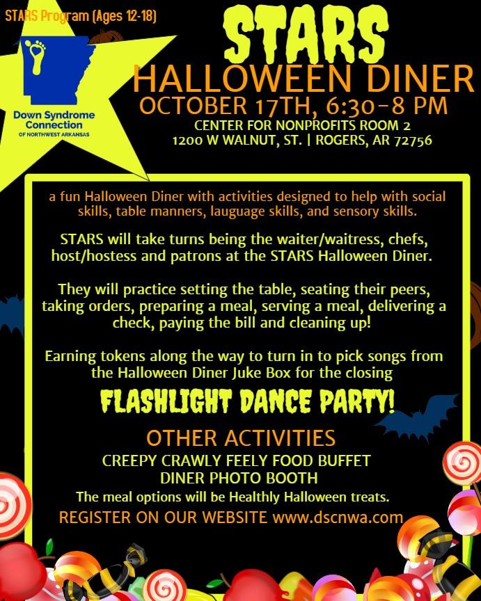 STARS Halloween Diner