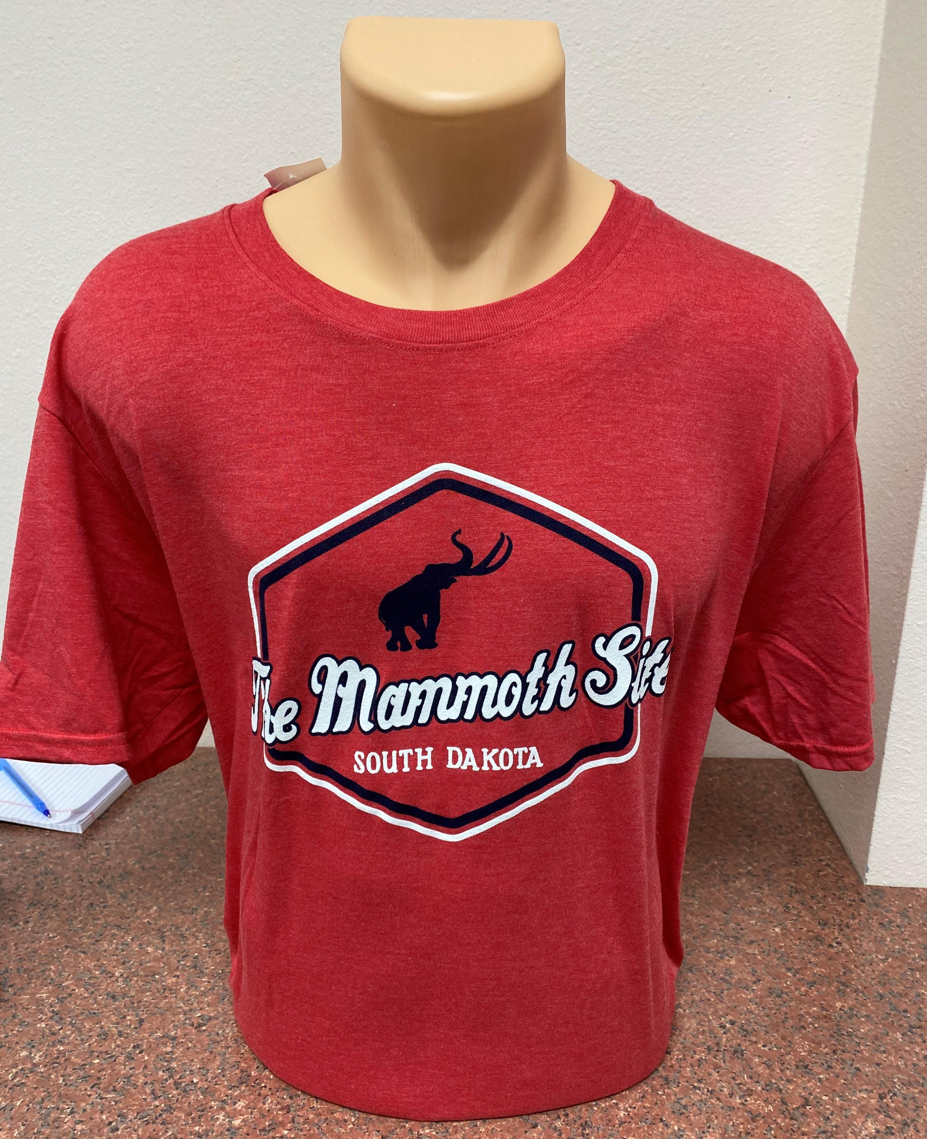 Mammoth Site Silhouette Shirt - Aiden Tri Blend