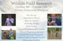 Fall Wildlife Field Research Week at CNC