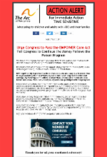 9.5.18 - Urge Congress to Pass the EMPOWER Care Act