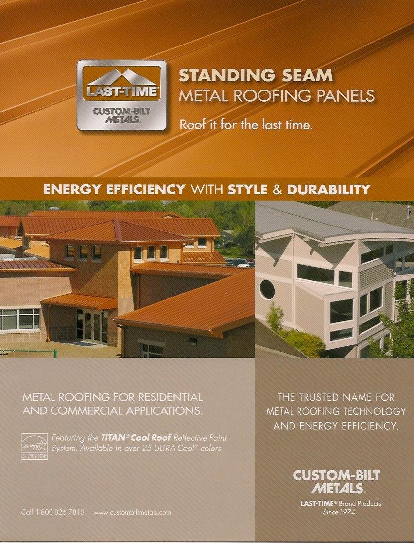 Brochures: Standing Seam