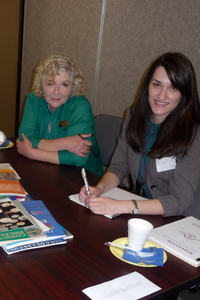 White Settlement ISD and Catholic Charities at literacy event