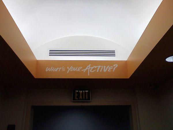 Corporate Interior Lettering