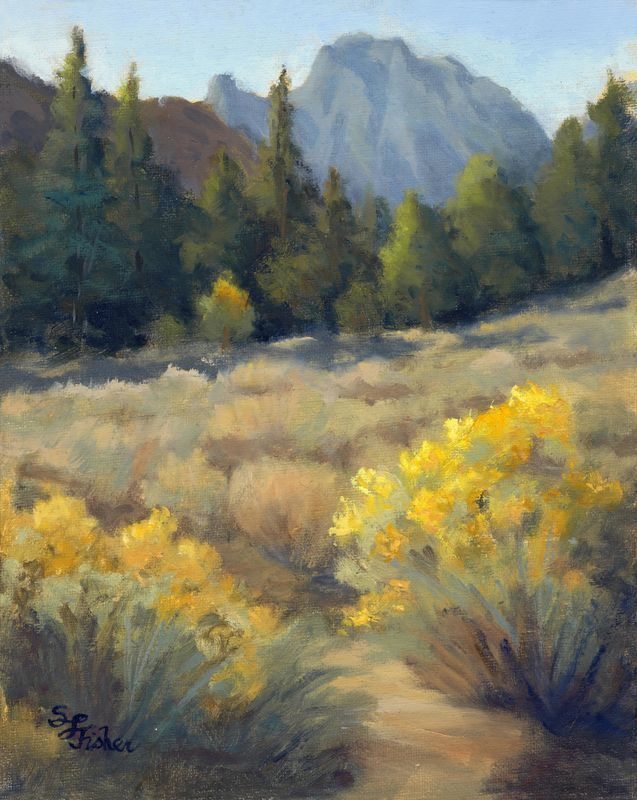 Rabbitbrush Reverie