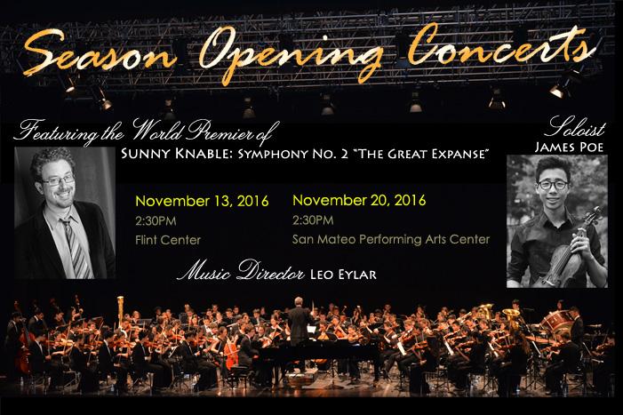 16-17 Season Opening Concerts