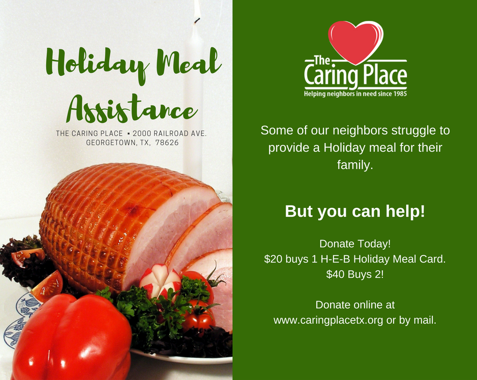 Holiday Meals for Everyone!