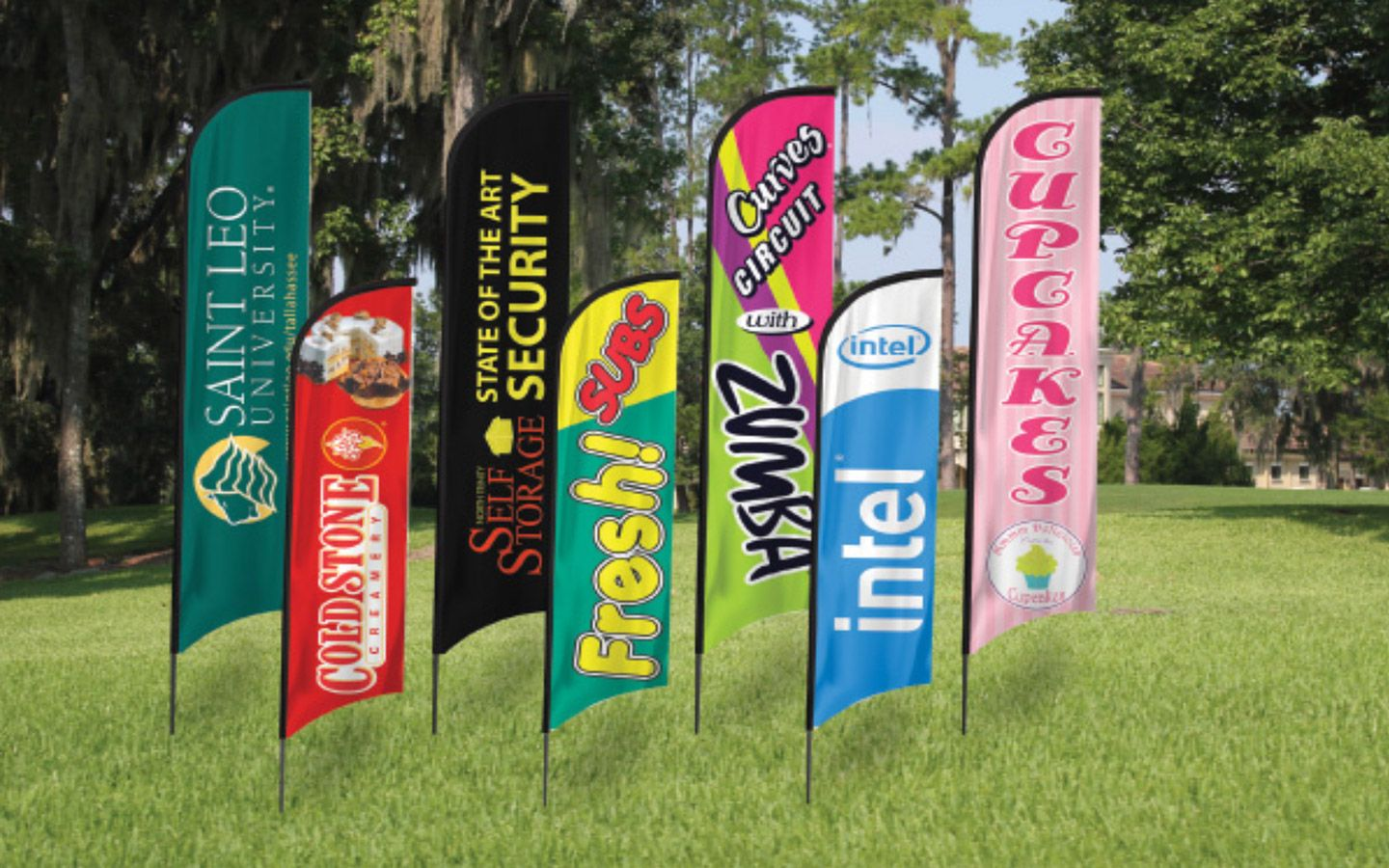 Outdoor Banners-Flags