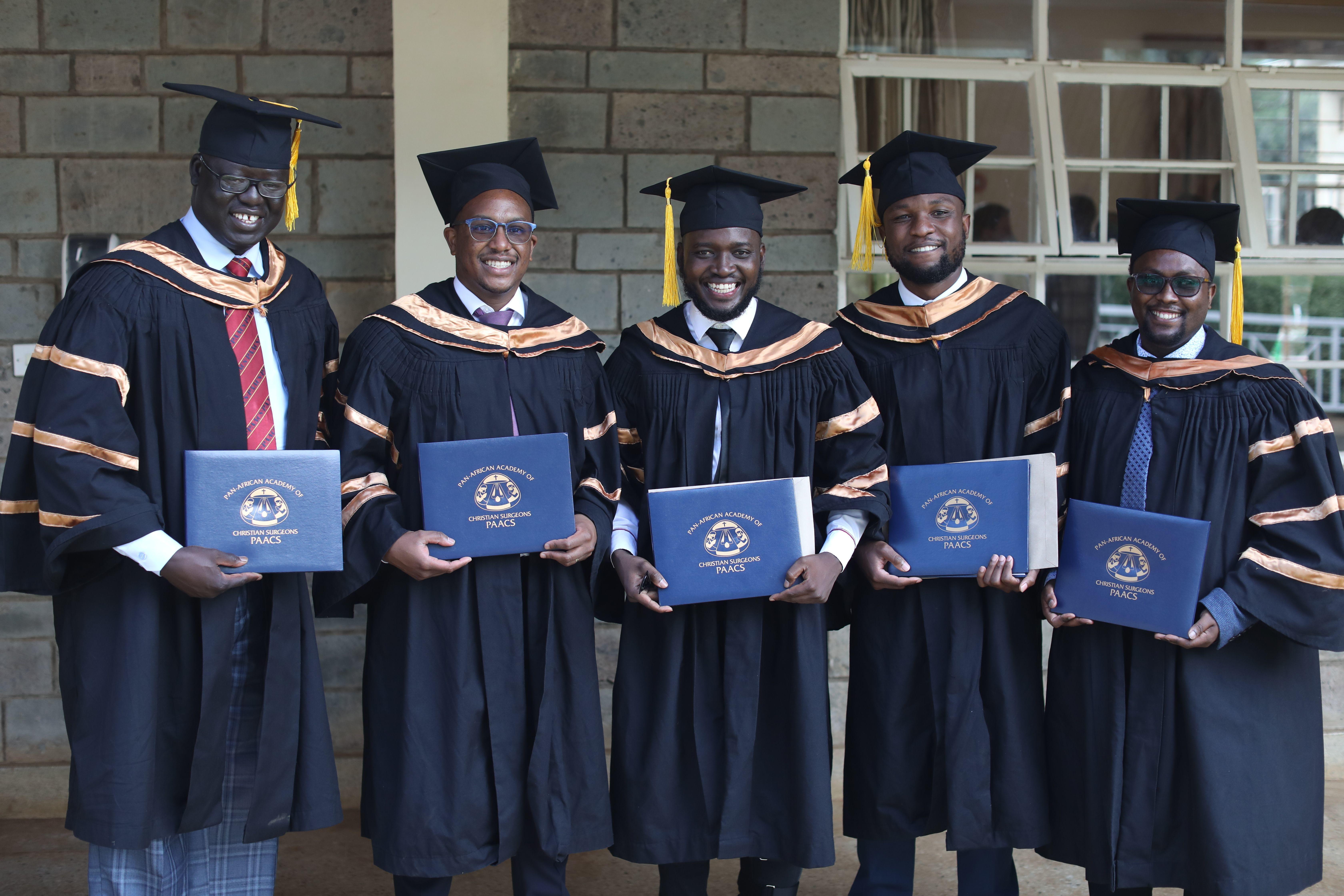 Five New PAACS Graduates from AIC Kijabe Program