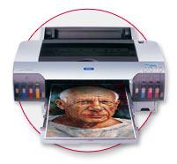 Epson 4000 Wide Format Printer