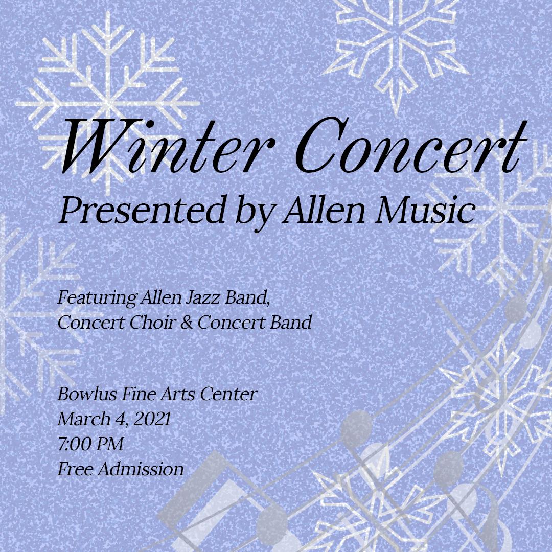 Allen Music Winter Concert