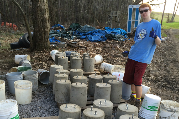 4.) Bullfrog Eagle Scout Project
