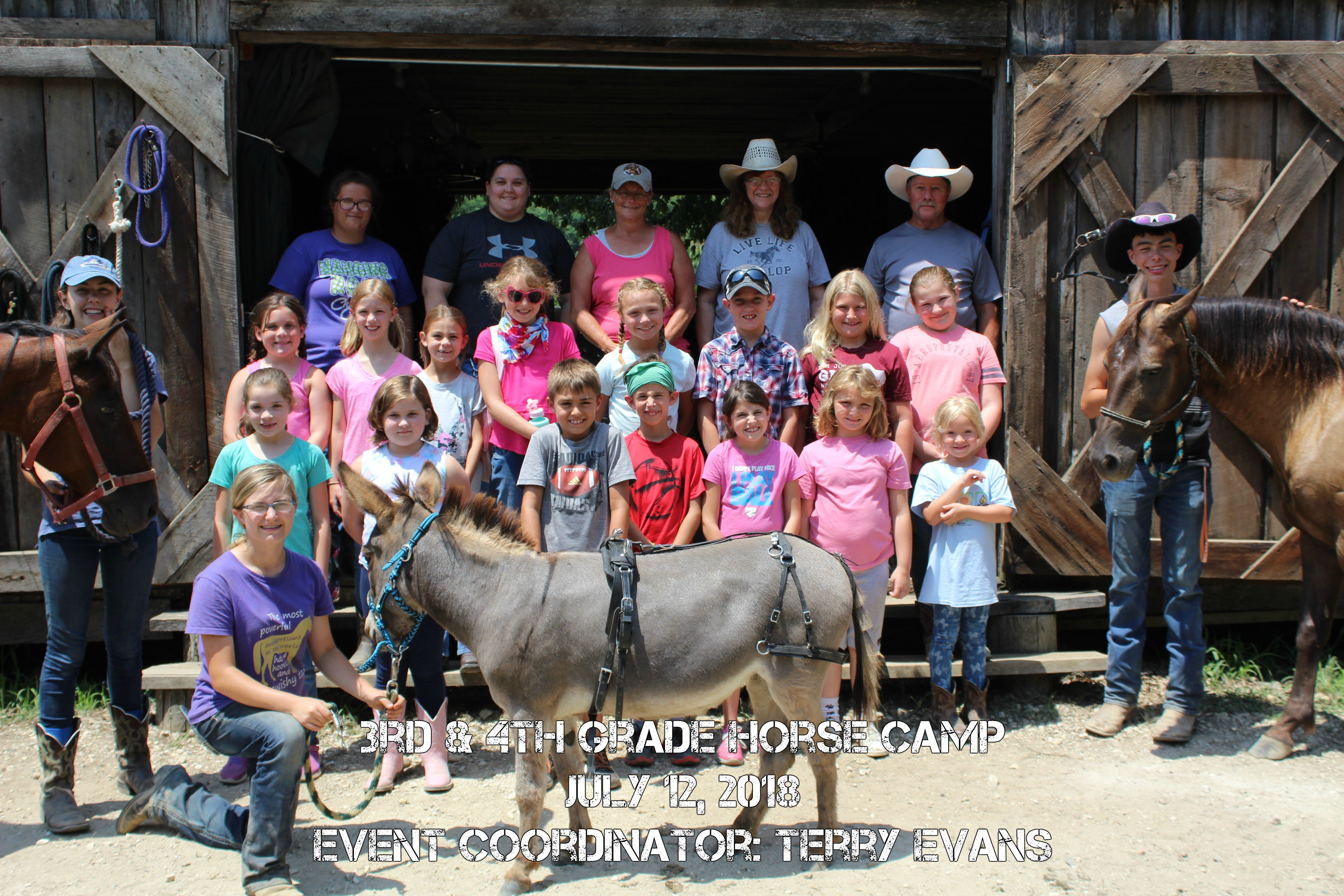 3rd and 4th Grade Horse Camp
