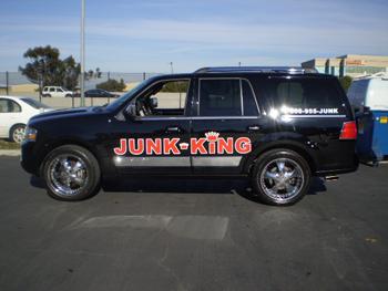 SUV lettering