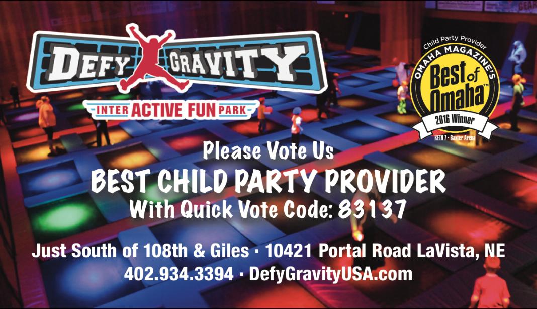 Go Vote Defy Gravity as Best of Omaha