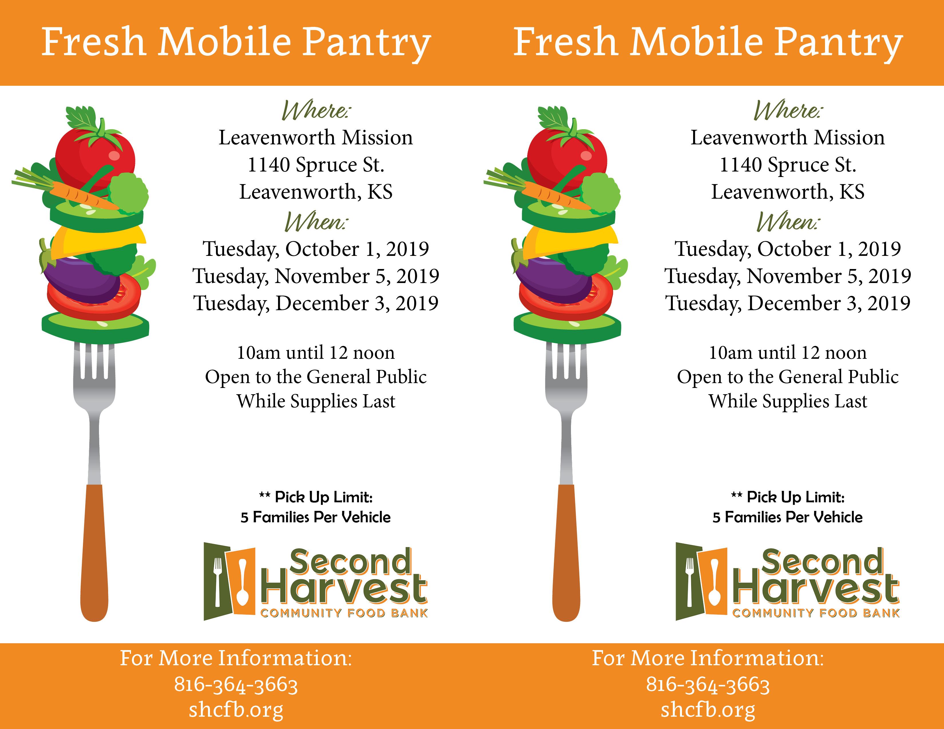 Leavenworth Mission Fresh Mobile Pantry