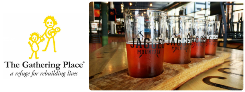 Jagged Mountain Craft Brewery supports TGP!