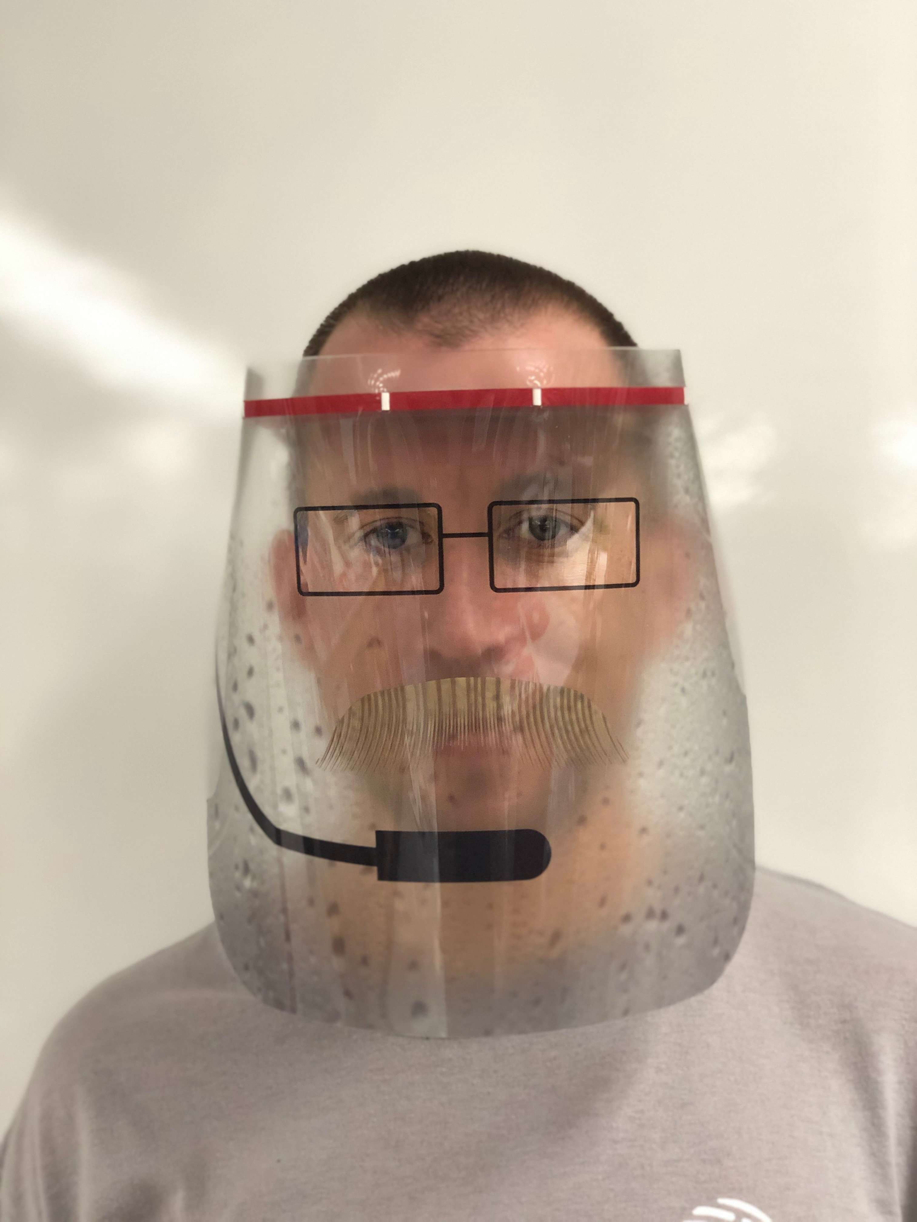 Coach Reid's Face Shield