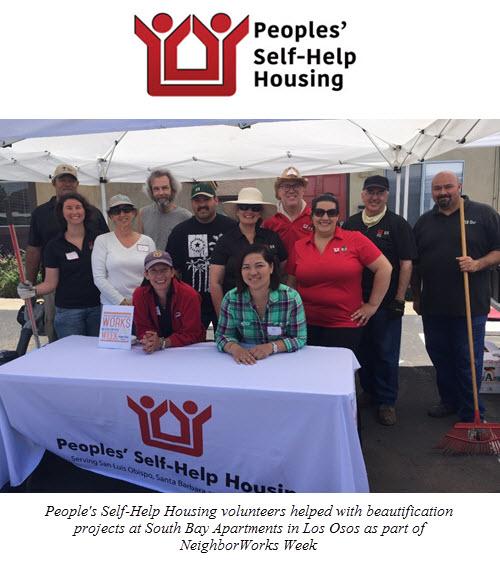 Volunteers Beautify Peoples' Self-Help Housing Property in Los Osos During NeighborWorks Week
