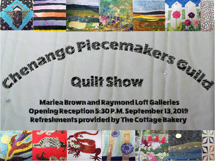 Chenango Piecemakers Guild Quilt Show