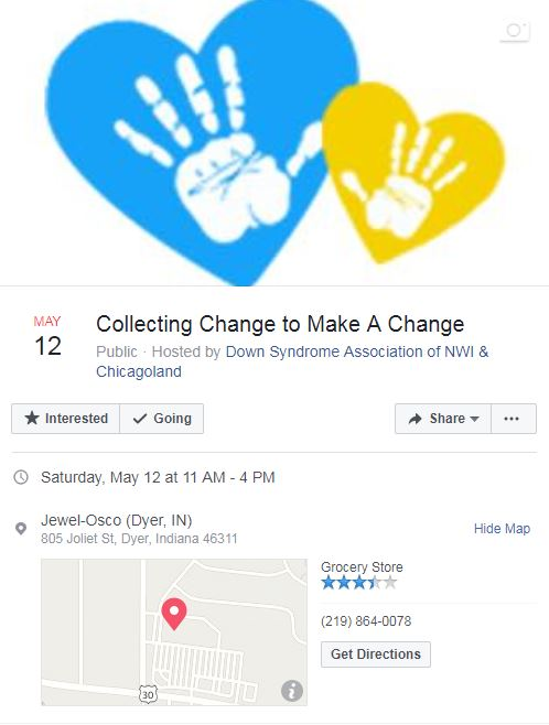Collect Change to Make a Change -Jewel/Osco - Dyer