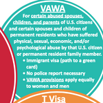 Select Humanitarian and Family-Based Immigration Options: Various Paths to a Green Card (Lawful Permanent Residence) for Certain Survivors and Family Members (English & Spanish Available)