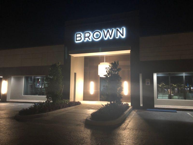 Illuminated Building Sign
