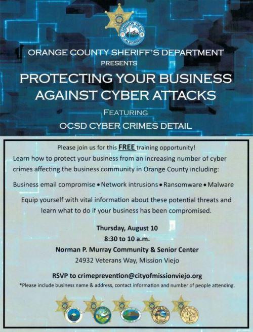OCSD Cyber Crimes Presentation