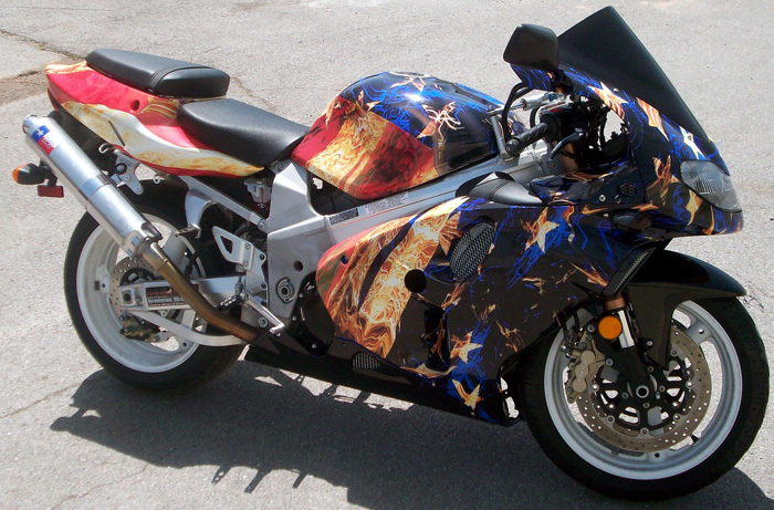 Motorcycle Wrap 11