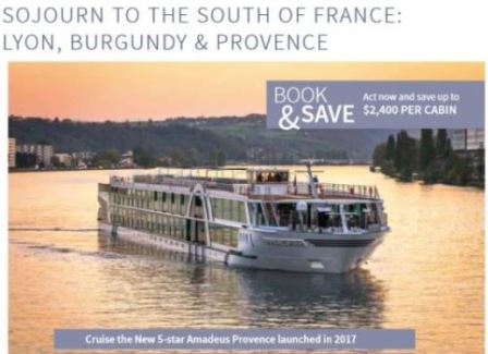 October 23, 2018  Sojurn to the South of France