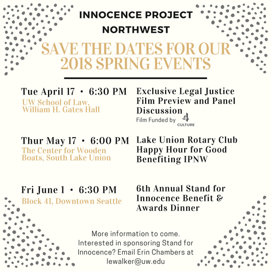 Don't miss our Spring 2018 events!