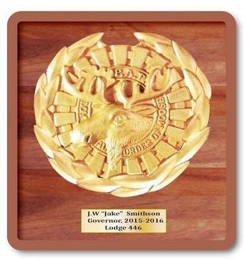 ME5280 - Emblem for Loyal Order of Moose, 3-D