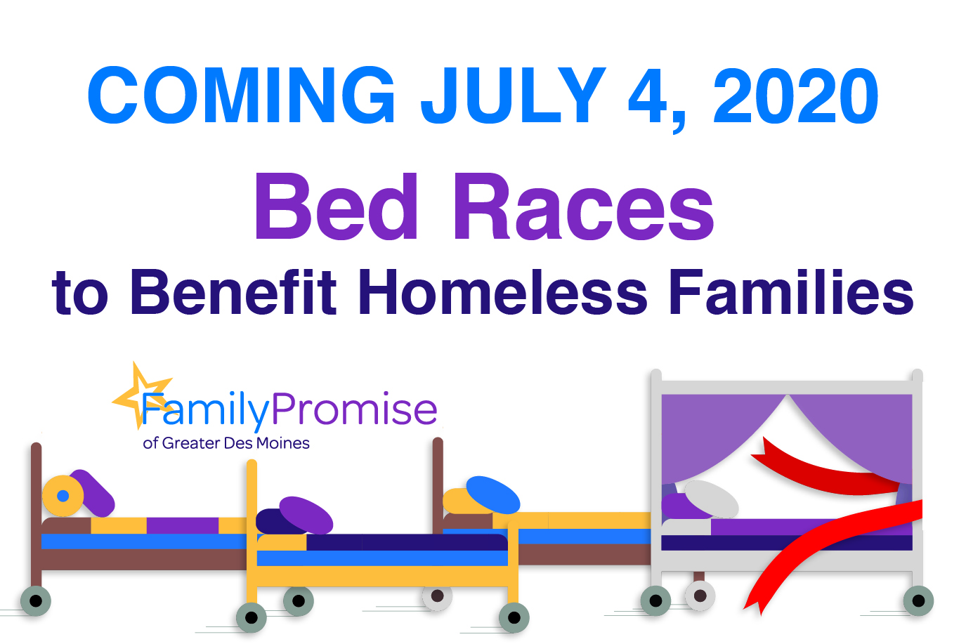 Bed Races - July 4, 2020