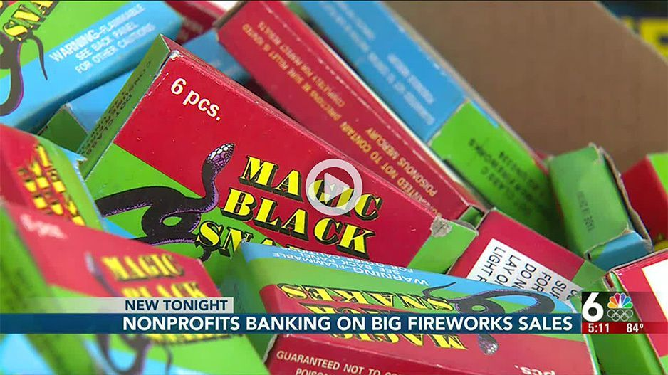 Omaha nonprofit teams up with fireworks store in midst of potential shortage