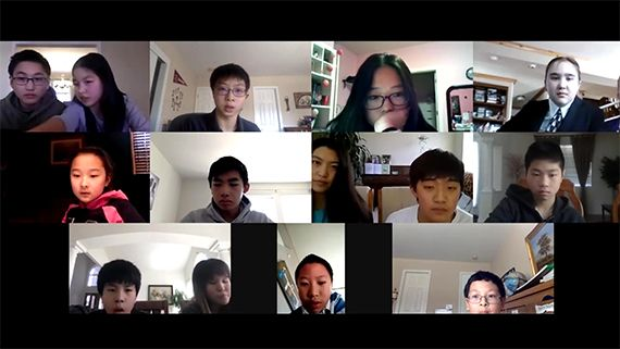Youth Creates Zoom Meeting